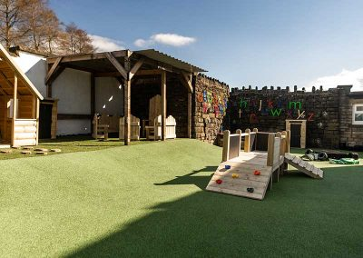 Private Meadow & Outdoor Play Areas